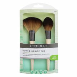 EcoTools 2 pc Define & Highlight Duo Brush Set