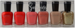 Zoya 6 pc Sunshine Collection B