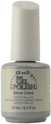 IBD Gel Polish Silver Lites (UV / LED Polish)