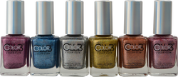 Color Club 6 pc Halo Crush Collection