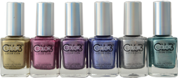 Color Club 6 pc Halo Chrome Collection