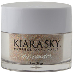 Kiara Sky Strike Gold Acrylic Dip Powder (1 oz. / 28 g)