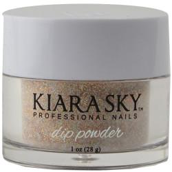Kiara Sky Strike Gold Acrylic Dip Powder (1 oz. / 28 g)