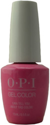 OPI Gelcolor Lima Tell You About This Color! (UV / LED Polish)