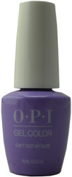 OPI Gelcolor Don't Toot My Flute (UV / LED Polish)