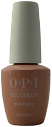 OPI Gelcolor Machu Peach-U (UV / LED Polish)