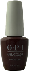 OPI Gelcolor Como Se Llama? (UV / LED Polish)