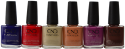 CND Vinylux 6 pc Wild Earth Collection