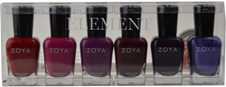 Zoya 6 pc Element Collection B
