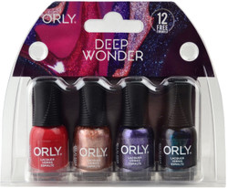 Orly 4 pc Deep Wonder Mini Set