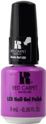 Red Carpet Manicure Flirting With Fringe (UV / LED Polish)