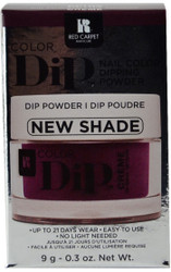 Red Carpet Manicure Prize Plum Color Dip Powder