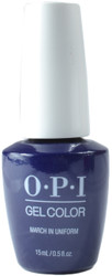 OPI Gelcolor March In Uniform