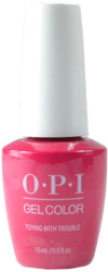 OPI Gelcolor Toying With Trouble