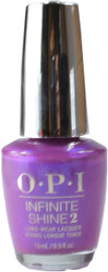 OPI Infinite Shine Samurai Breaks a Nail (Week Long Wear)