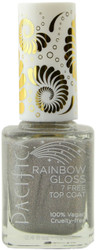 Pacifica Rainbow Gloss Top Coat (Holographic) (0.45 fl. oz. / 13.3 mL)