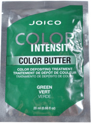JOICO Color Intensity Green Color Butter Color Depositing Treatment (0.68 fl. oz. / 20 mL)