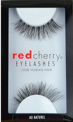 Red Cherry Lashes Au Naturel