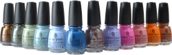 China Glaze 12 pc The Arrangement Collection