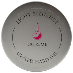 Light Elegance Clear Extreme Lexy Line UV / LED Hard Gel Builder (1.01 fl. oz. / 30 mL)