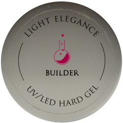 Light Elegance Clear Builder Lexy Line UV / LED Hard Gel Builder (1.01 fl. oz. / 30 mL)