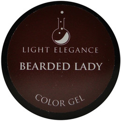 Light Elegance Bearded Lady Color Gel (UV / LED Gel)