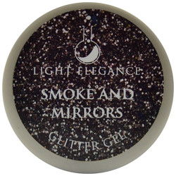 Light Elegance Smoke And Mirrors Glitter Gel (UV / LED Gel)