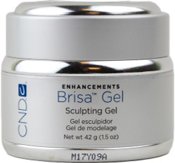 CND Brisa Gel Cool Pink Semi-Sheer UV / LED Sculpting Gel (1.5 oz. / 42 g)