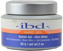 IBD Ultra White UV / LED Hard Gel Builder (2 oz. / 56 g)