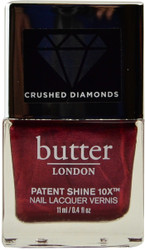 Butter London Red Diamond Crushed Diamonds Patent Shine 10X (Week Long Wear)