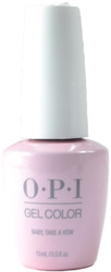 OPI Gelcolor Baby, Take a Vow (UV / LED Polish)