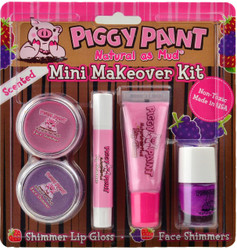 Piggy Paint for Kids 5 pc Mini Makeover Kit w/ Funky Fruit Sencted Nail Polish