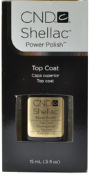 CND Shellac Large Original UV / LED Top Coat (0.5 fl. oz. / 15 mL)