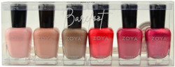 Zoya 6 pc Barefoot Collection A