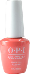 OPI Gelcolor Orange You a Rock Star? (UV / LED Polish)