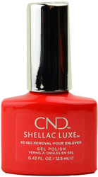 CND Shellac Luxe Electric Orange (UV / LED Polish)