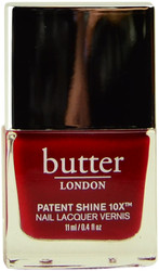 Butter London Regal Red Patent Shine 10X (Week Long Wear)
