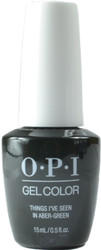 OPI Gelcolor Things I've Seen in Aber-Green (UV / LED Polish)