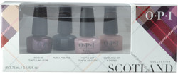 OPI 4 pc Scotland 2019 Mini Set