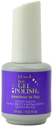 Ibd Gel Polish Heedless to Say (UV / LED Polish)