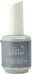Ibd Gel Polish Pretty in Pewter (UV / LED Polish)
