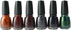 China Glaze 6 pc To Catch A Colour 2019 Halloween Collection