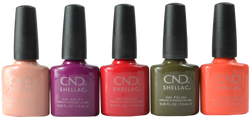 CND Shellac 5 pc Treasured Moments 2019 Collection