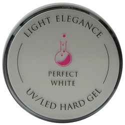 Light Elegance Perfect White Lexy Line UV / LED Hard Gel Builder (1.01 fl. oz. / 30 mL)