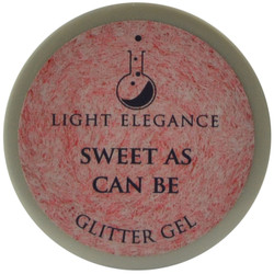 Light Elegance Sweet as Can Be Glitter Gel (UV / LED Gel)