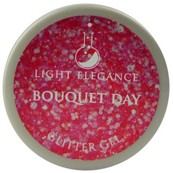 Light Elegance Bouquet Day Glitter Gel (UV / LED Gel)