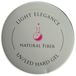 Light Elegance Natural Fiber Lexy Line UV / LED Hard Gel Builder (1.79 fl. oz. / 50 mL)