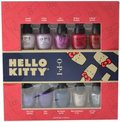 OPI 10 pc Hello Kitty 2019 Mini Set