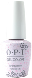 OPI Gelcolor Let's Celebrate! (UV / LED Polish)