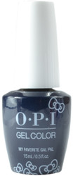OPI Gelcolor My Favorite Gal Pal (UV / LED Polish)